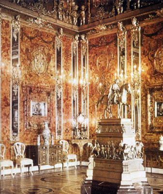 Amber Room as pictured in 1938